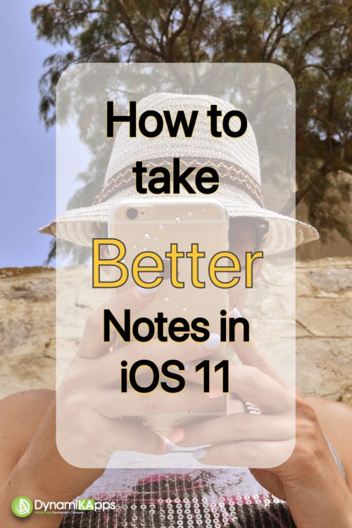 Better Notes