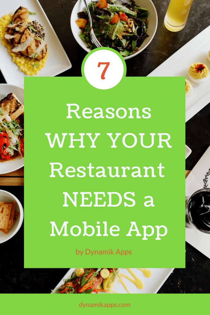 7 Reasons Why Your Restaurant Should Have a Mobile App