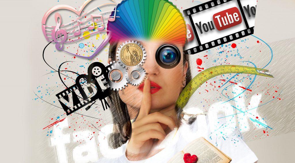 Market app content on social media